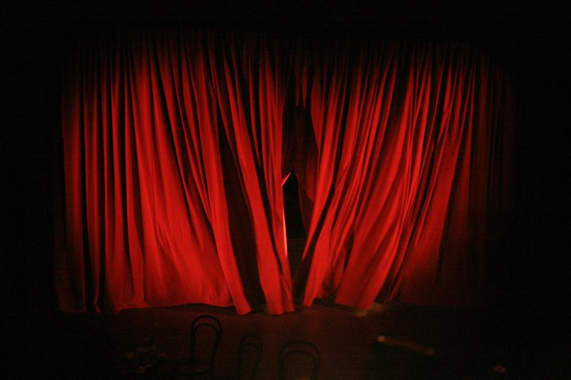 A new chapter beyond the changing room curtains f ff for Velvet curtains background